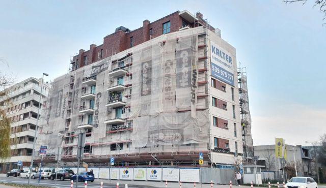 Budynek nabiera finalnego wyglądu
